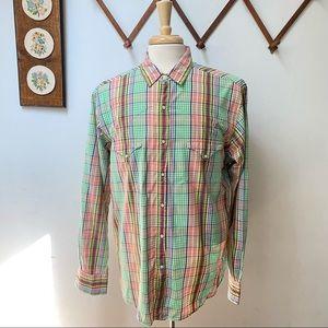 Polo Ralph Lauren RL Western Pearl Snap Shirt